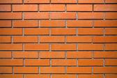 оранжевый кирпичная стена — Стоковое фото