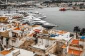 View of the Harbour at Ibiza Town — ストック写真