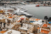 View of the Harbour at Ibiza Town — Stock Photo