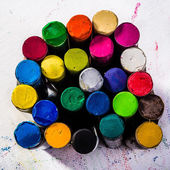 Oil Pastels on Paper — 图库照片