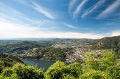 Como Town and Lake — Stockfoto
