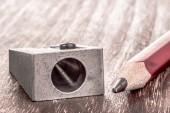 Pencil Sharpener — Stock Photo