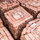 Stacked Bricks — Stock Photo