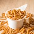 One Cup of Wholewheat Macaroni — Stock Photo #69331527