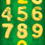 Numbers zero to Nine — Stock Photo #71754887