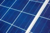Solar Panel up Close — Stock Photo