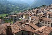 イタリア北部の Bagolino のパノラマ ビュー — ストック写真