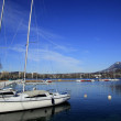 Boats on the lake Annecy, France — Stock Photo #68231921