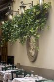 Włoska restauracja — Zdjęcie stockowe