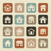 House icons — Stock Photo