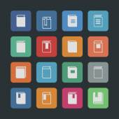 Book icons — Stock Vector