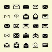 Ikony poczty — Wektor stockowy