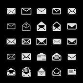 Iconos de correo — Vector de stock