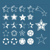 Stern-symbole — Stockvektor
