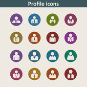User icons — Stock Vector