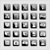 Medical icons — Stockvector