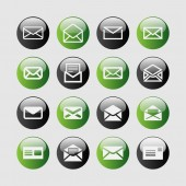 Mail-symbole — Stockvektor