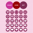 Heart icons — Vector de stock  #57501711