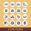 ������, ������: Coin icons