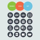 Money icons — Stock Vector