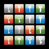 Key icons — Stock Vector
