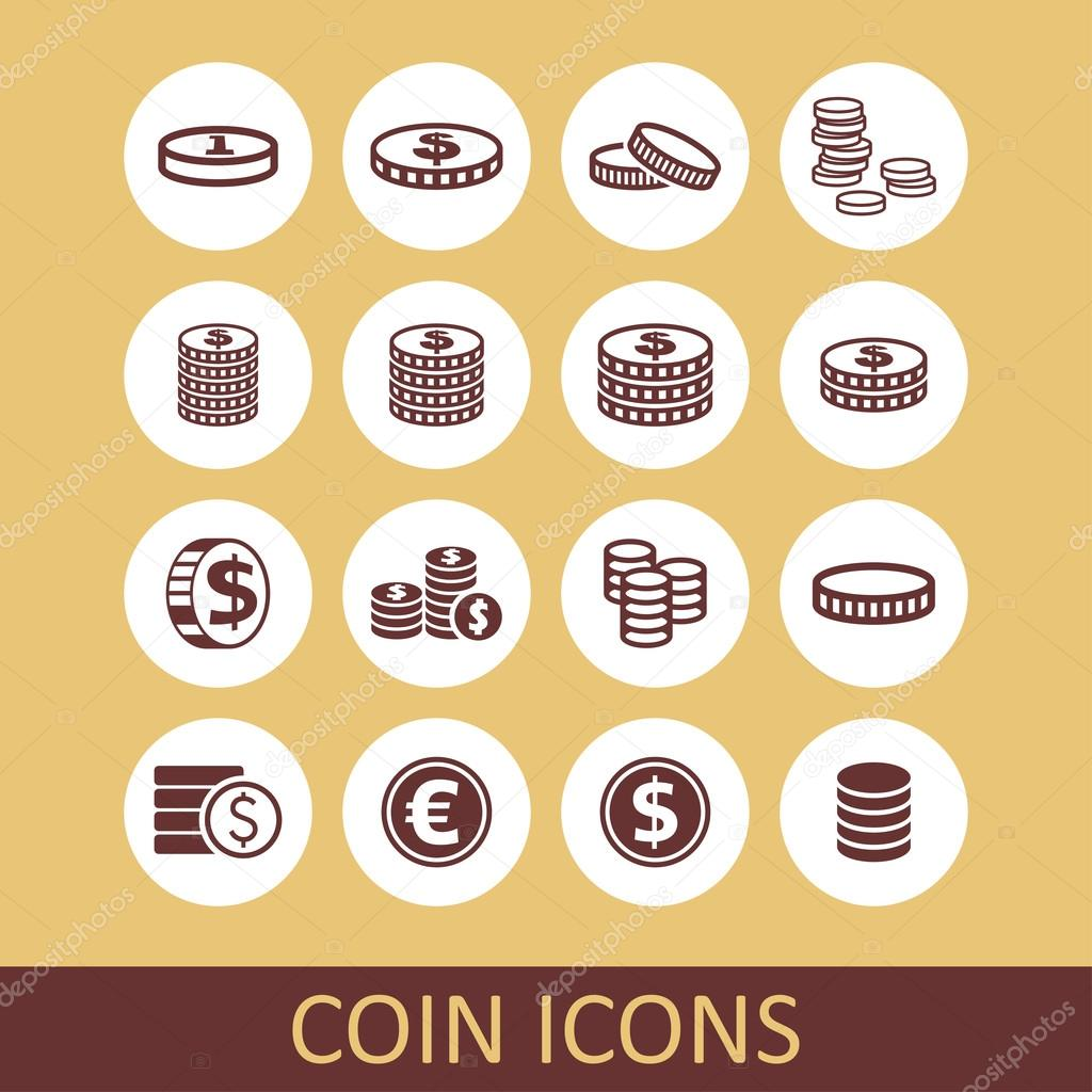монета иконка: