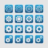 Setting icons — Stock Vector