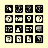 Help-symbolen — Stockvector