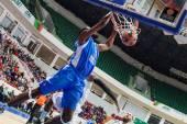 Lawal Shane Slam dunk — Stock Photo