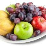 vruchten op schotel — Stockfoto #56829215