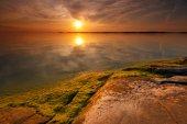 Summer evening seascape — Stock Photo