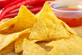 Nacho snacks — Stock Photo