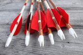 Archery arrows — Stock Photo