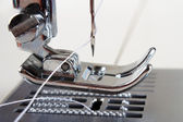 Sewing machine closeup — Stock Photo