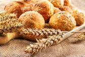 Homemade buns — Stock Photo