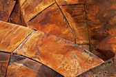 Rusted Steel Roof sheets — Stock Photo