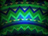 Geometric shapes background - mandala style — Stock Photo