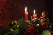 Cheristmas decorations — Stock Photo