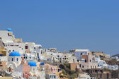 Village of Oia in Santorini, Greece — Stock Photo
