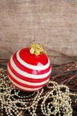 Christmas Christmas tree decorations — Stock Photo