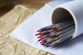 Set of colored pencils — Стоковое фото