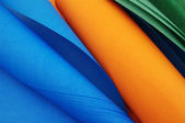 Bright rolls of color paper — Stock Photo