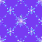 Lilac Christmas seamless background — Stock Vector