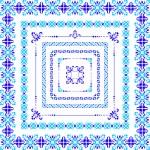 Decor graphical borders — Stock Vector #58252481