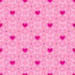 Seamless background with hearts — Stock Vector #58252871