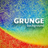 Bright rainbow grunge background — Stock Vector