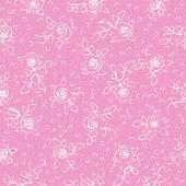Patroon met rozen — Stockvector