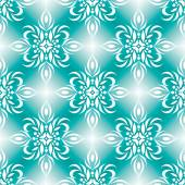 Shimmering turquoise  pattern — Stock Vector