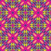 Kaleidoscope seamless background — Stock Vector