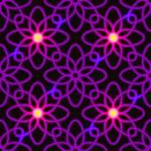 Purple fire seamless patter — Stock Vector
